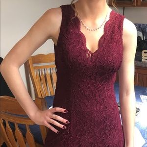 Morgan and Company full length size 3/4 dress